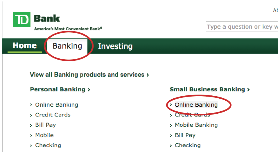 How to Download Your TD Bank Statement