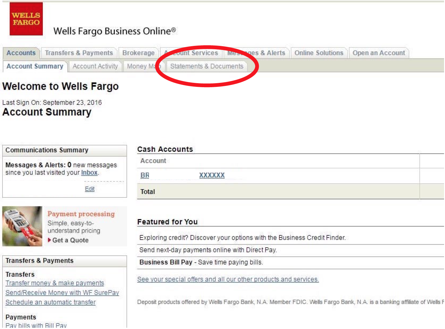 how to get a bank account at wells fargo